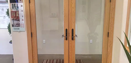 sliding contemporary doors installation