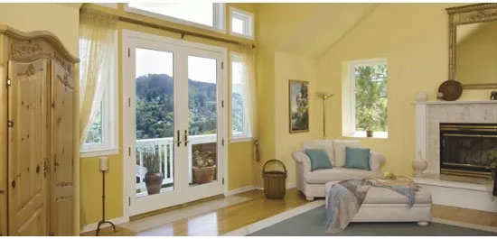 hinged french doors installation