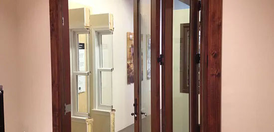 hinged french doors maintenance