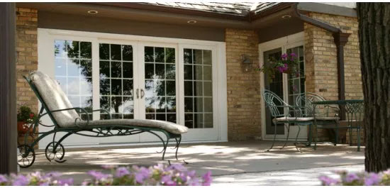 sliding french doors replacement