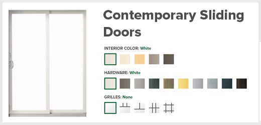 Sliding Contemporary Doors