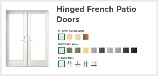 Hinged French Doors Scottsdale