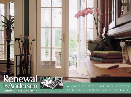 4 Ways To Style French Doors For Traditional Architecture