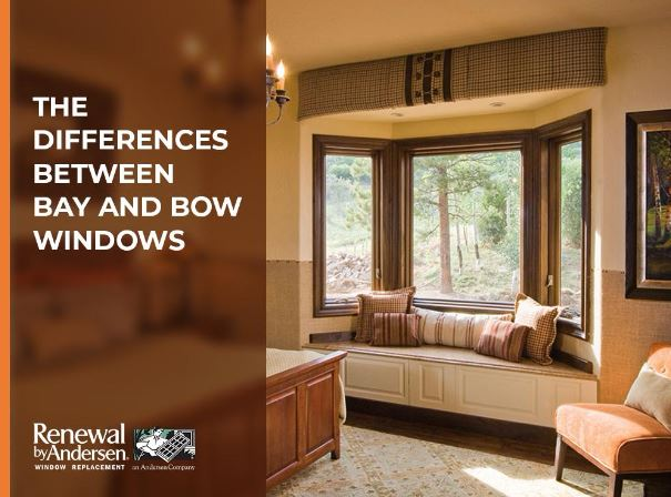 Difference Between Bay And Bow Windows : The differences between bay and bow windows